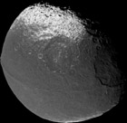 Iapetus at a scale of 10 km/pixel